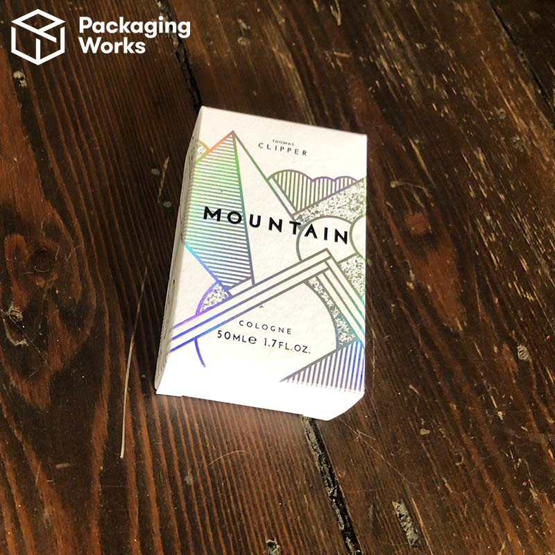 monochrome printed packaging