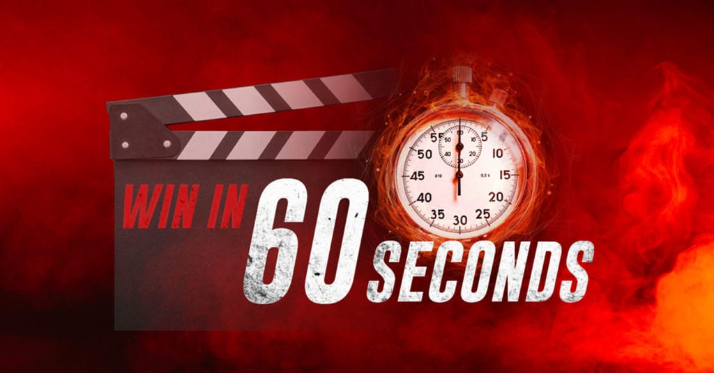 Win in 60 Seconds Launches